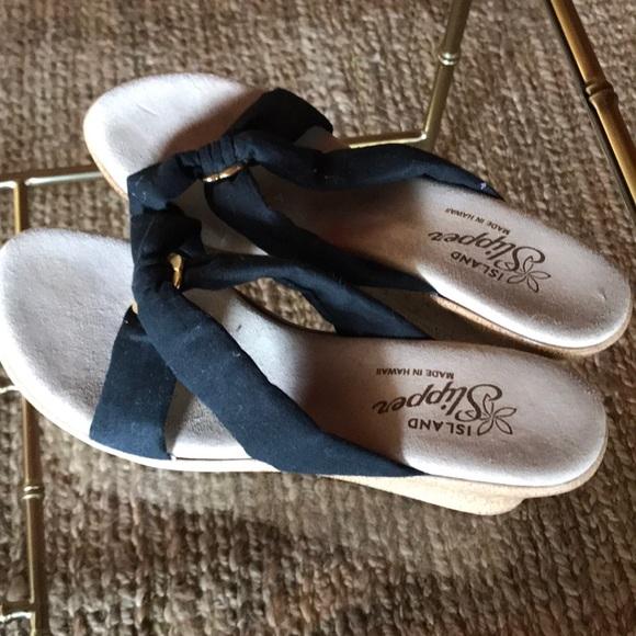 9c09d4431fc87 Island Slipper Shoes - Wedge sandals Island Slipper